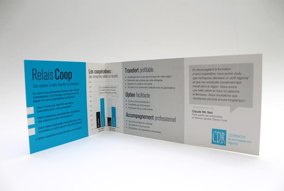Depliant promotion coop