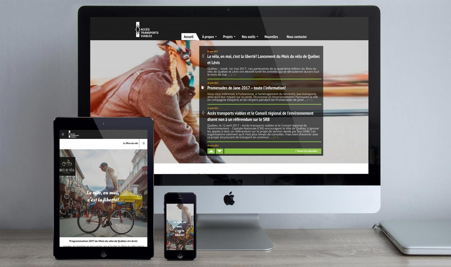 ATV refonte site web